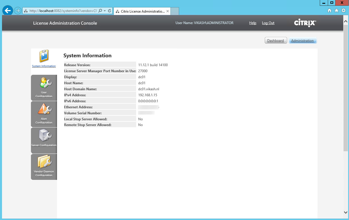 How to setup and configure Citrix Licensing Server 11 12 1