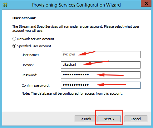 Setup and configuration of Citrix Provisioning Services 7 8