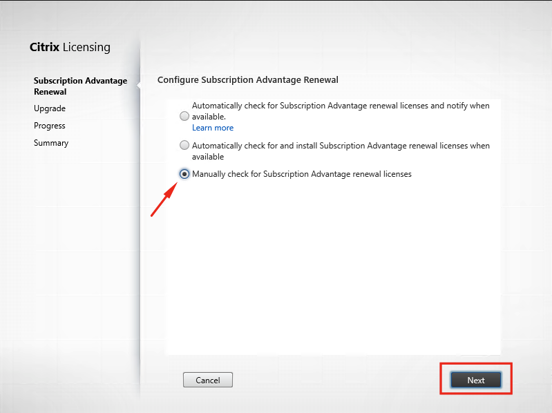 Upgrade Citrix Licensing Server 11 13 1 2 to version 11 14