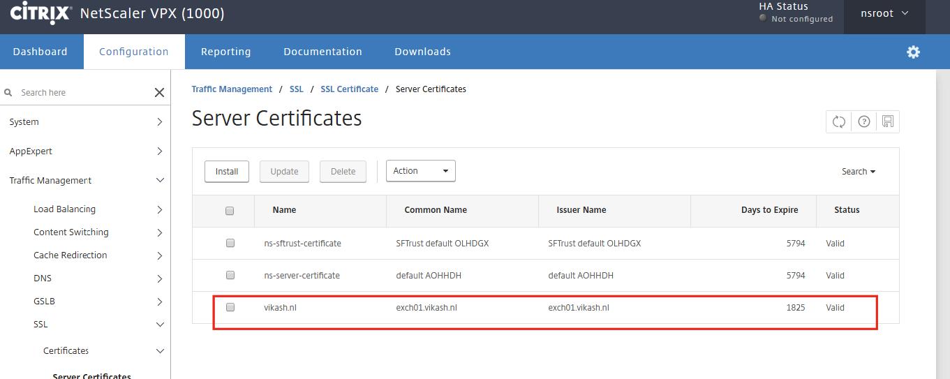 Import Pfx Ssl Certificate On Citrix Netscaler Vikash Pragmatic It