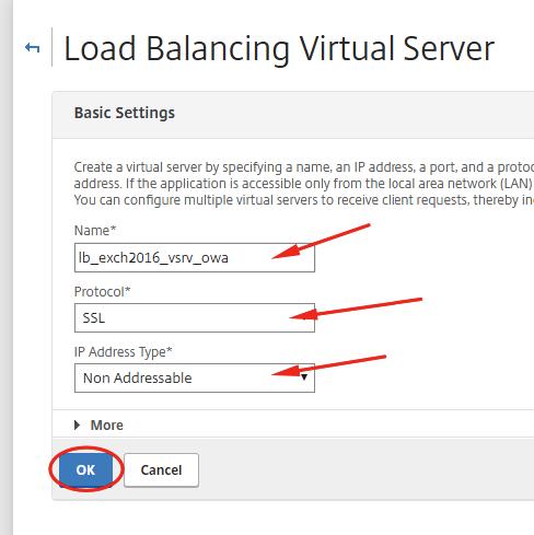 Load Balancing Microsoft Exchange 2016 with Citrix NetScaler