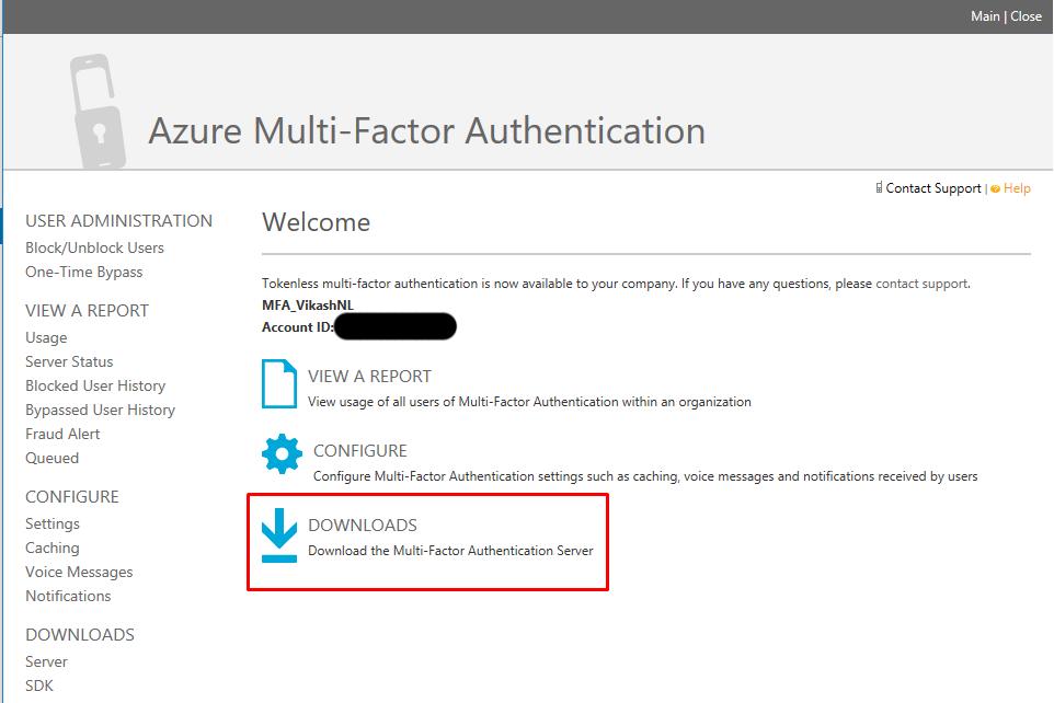Azure Multi-Factor Authentication Server with Citrix