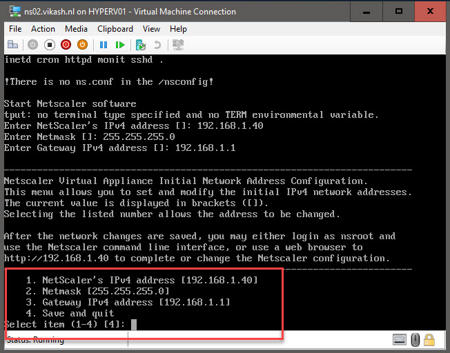 Copy NetScaler configuration and change all the IPs - Vikash nl