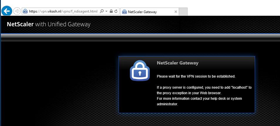 netscaler gateway windows 10